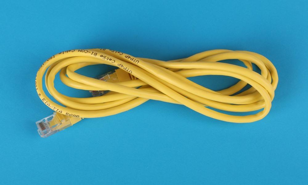 Un cable ethernet, la mejor conexión